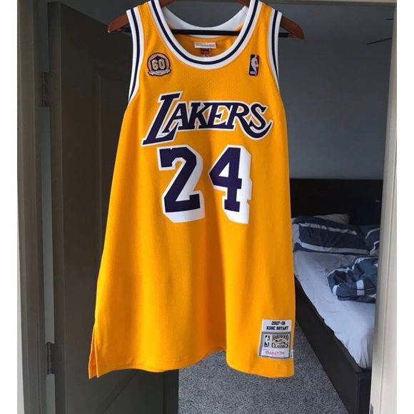 half off f389f 47ee4 Kobe Mitchell & Ness Lakers Jersey